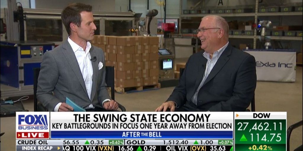 Seedcopa Borrower ONExia On TV With Fox Business