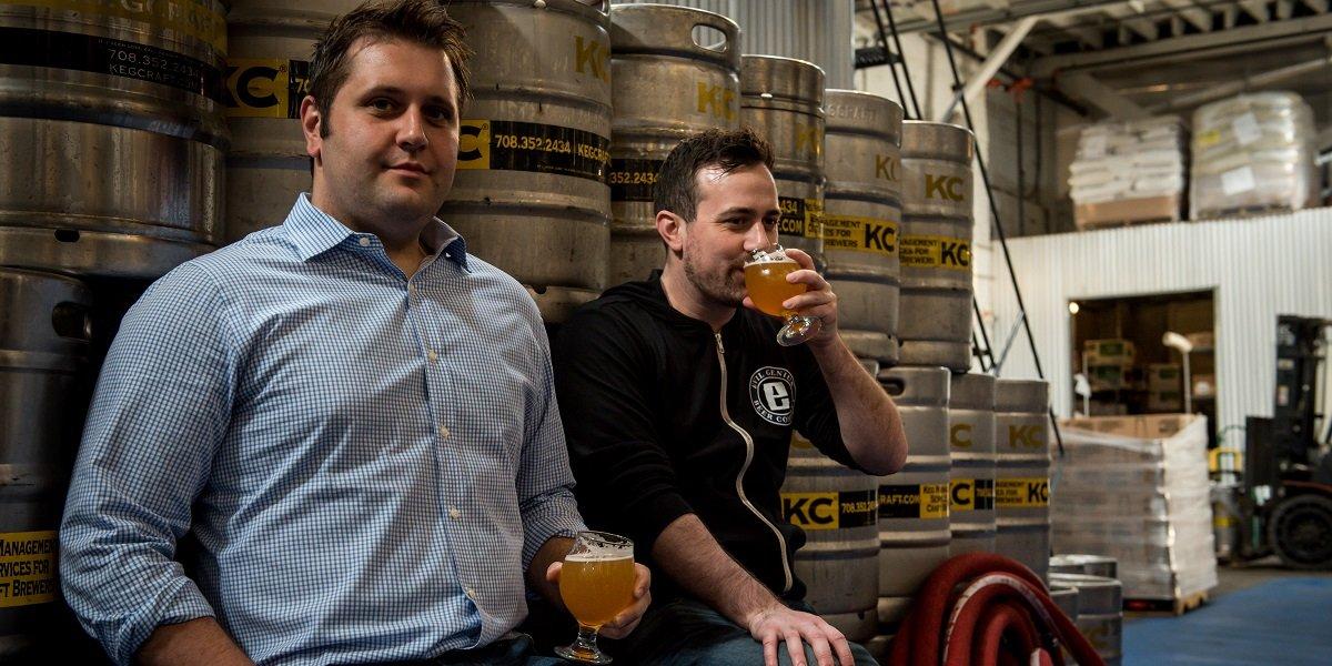 Owners of Evil Genius Brewery