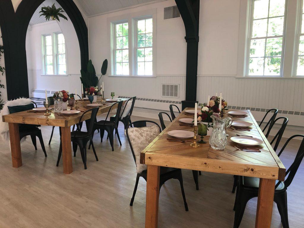 Dining room at Pocono Palms