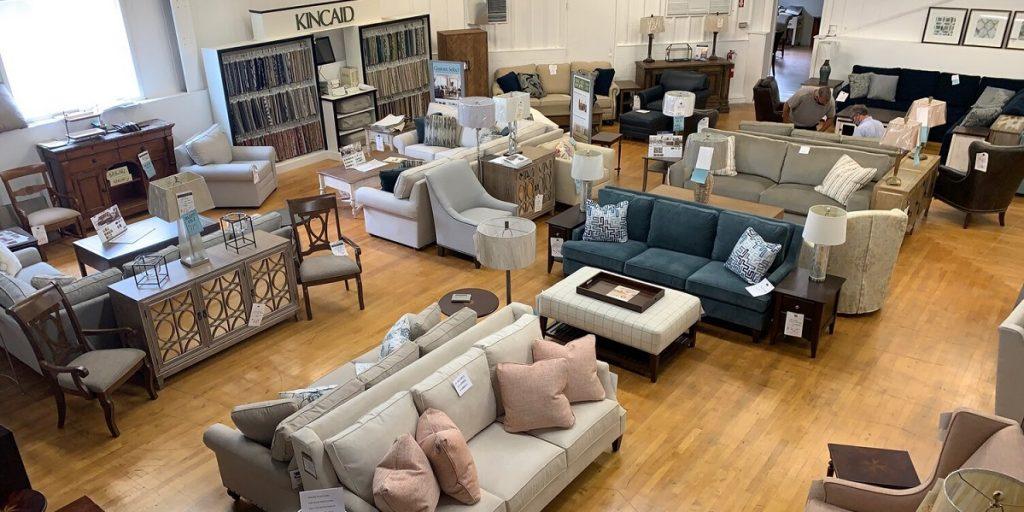 Furniture at Home Furnishing Market