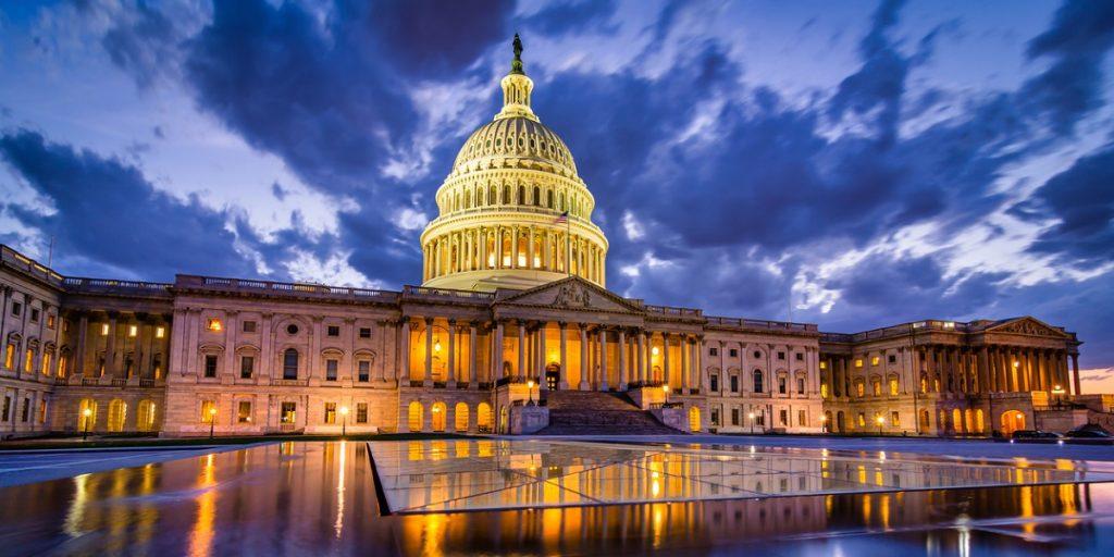 Capitol building in Washington, DC