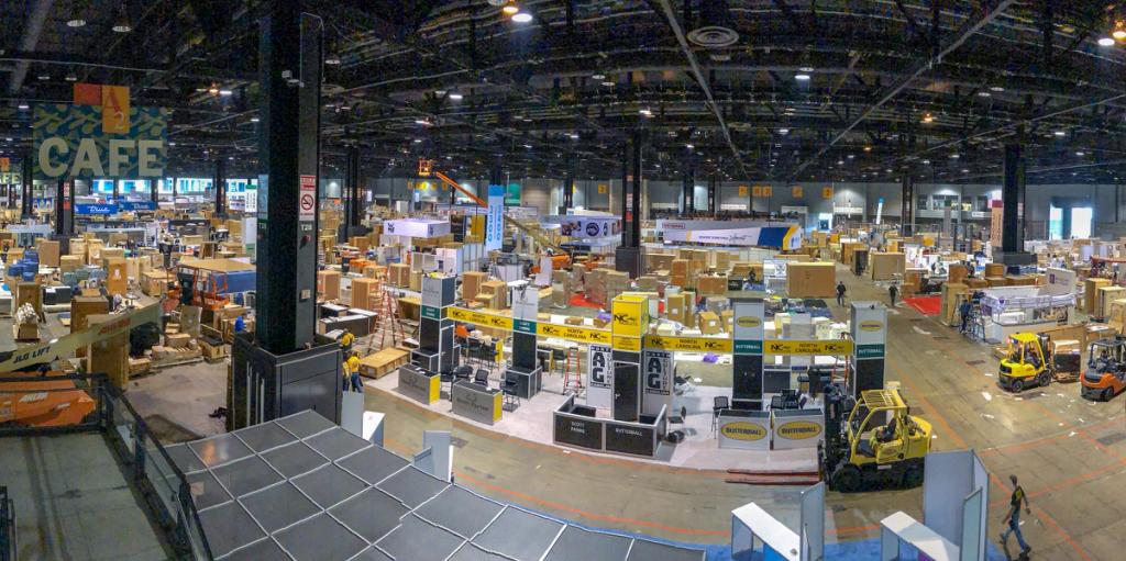 Legacy Logistics event setup